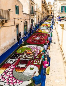 39^ edition of Infiorata of Noto 2018