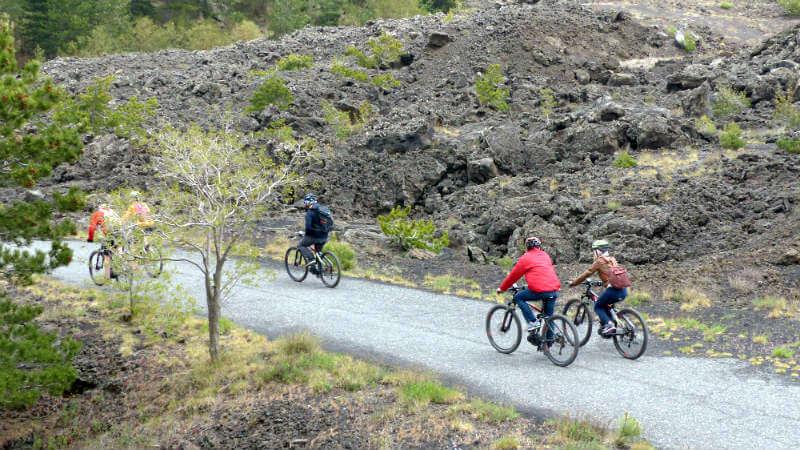 Tour dell'Etna in e-MTB