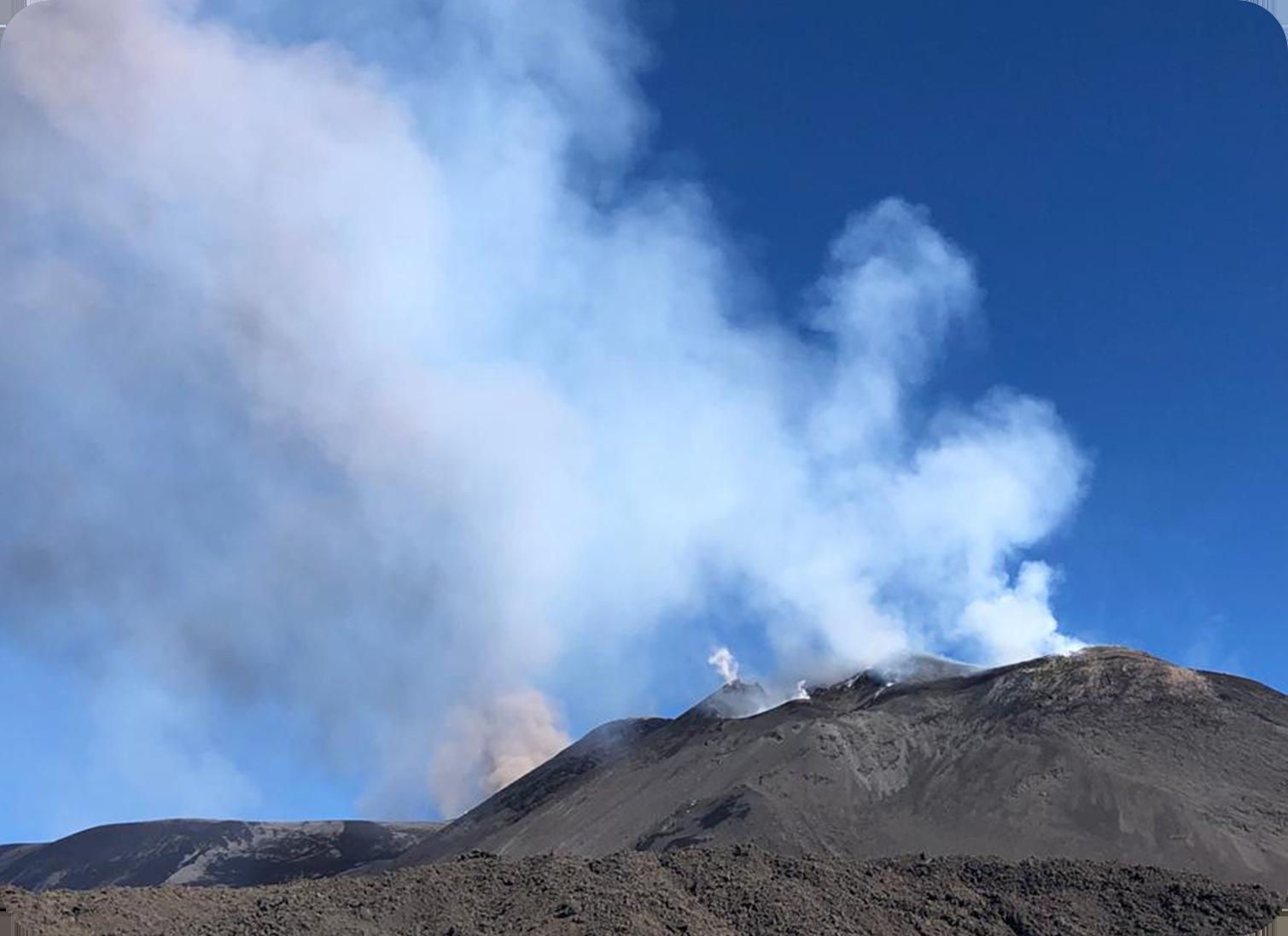Etna Crateri Sommitali 2900 mt.